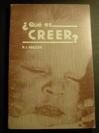 Que Es Creer?
