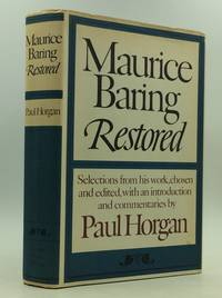 image of MAURICE BARING RESTORED