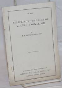 Miracles in the light of modern knowledge