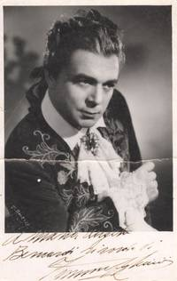 Postcard Photo signed and inscribed (Ferrucio, 1913-1995, Italian Operatic Tenor)