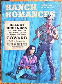 image of Death on the River. Short Story in Ranch Romances Volume 217 Number 2. May 1965.