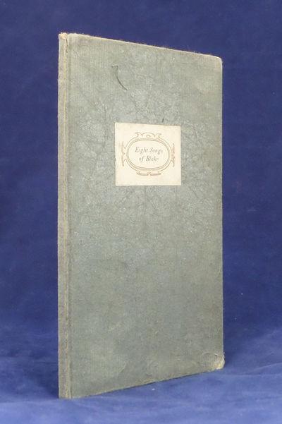 8vo. New York: William Edwin Rudge, 1926. 8vo, 16 leaves, unpaginated. Gray paper covered boards. To...