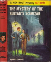The Mystery of the Sultan's Scimitar Ken Holt #18 (Sultans)