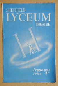 image of Sheffield Lyceum Theatre Programme. 5th October 1953.