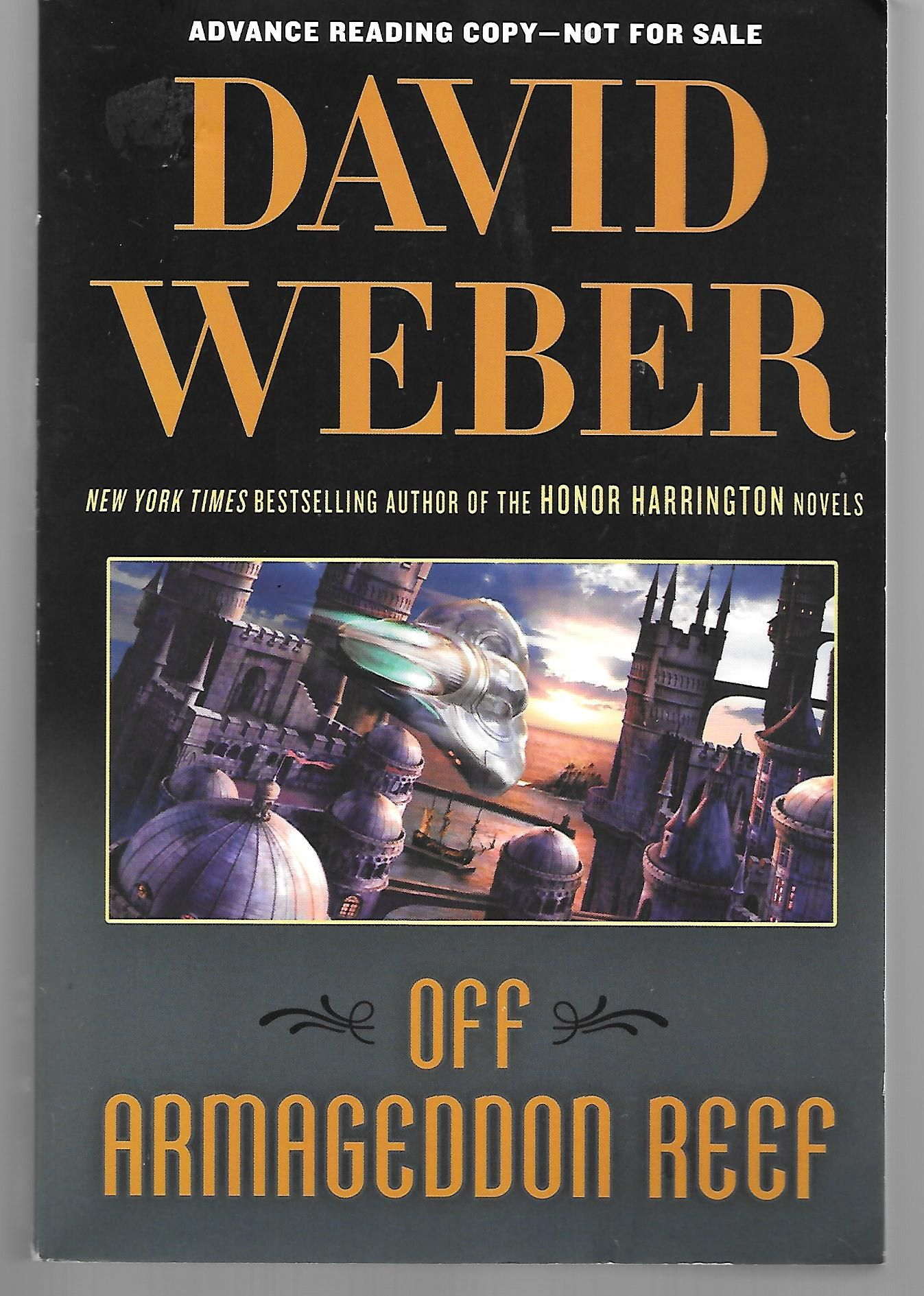 Off Armageddon Reef ( Advance Reading Copy In Trade Paperback