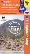 image of The English Lakes - North Eastern Area (OS Explorer Map Active)