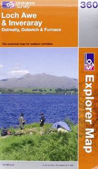 image of Loch Awe and Inveraray (OS Explorer Map Series)