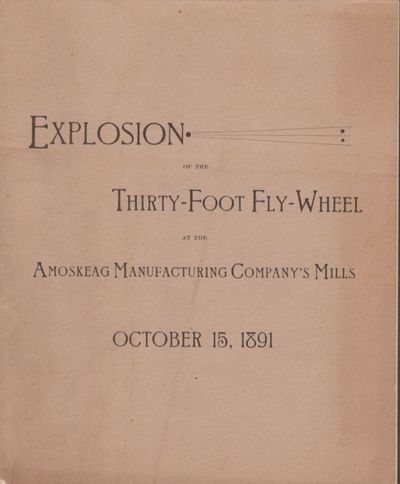 Manchester, New Hampshire: Printed by the John B. Clarke Co, 1892. First Edition. Wraps. Very good. ...