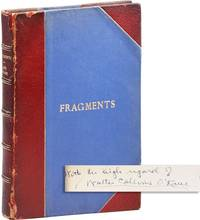 Fragments [Complete Run - Inscribed & Signed]