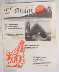 image of El Andar: bilingual monthly for the Santa Cruz County, numero 5, Noviembre de 1989