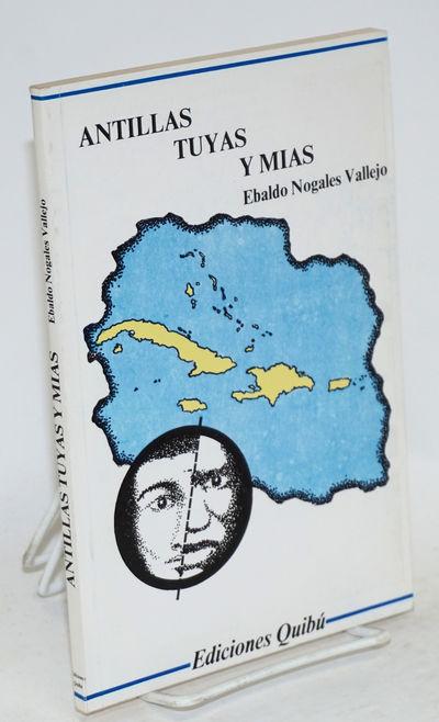 San Juan: Ediciones Quibú, 1985. Paperback. v, 88p., text in Spanish, illustrations, very good seco...