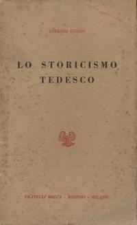 LO STORICISMO TEDESCO