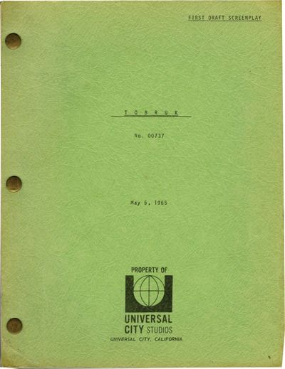 Universal City, CA: Universal Pictures, 1965. First Draft script for the 1967 film. Nominated for an...