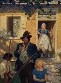9b [Wyeth, N.C.- Very Fine Copy] Rip Van Winkle