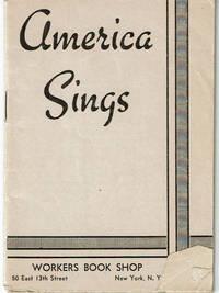 image of AMERICA SINGS. (Cover title).