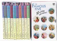 The Famous Five, 10 Volumes in a Slipcase: On a Treasure Island; Go Adventuring Again; Run Away...