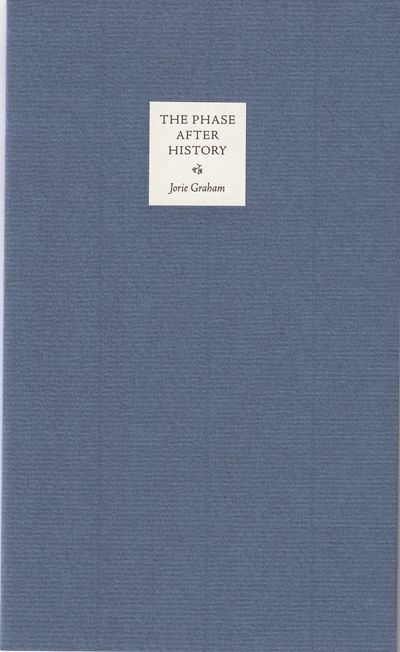 (No place: The Academy of American Poets, no date but 1999). First separate edition. Limited to 200 ...