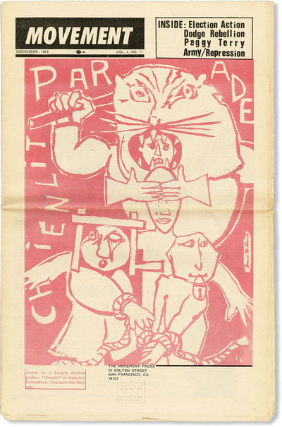 San Francisco: The Movement Press, 1968. First Edition. Paperback. Well-preserved issue of this SNCC...