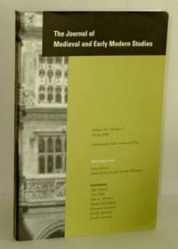 Journal of Medieval and Early Modern Studies, Volume 30, Number 2, Spring 2000; Open-Topic Issue