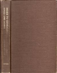 Donald Lines Jacobus' Index to Genealogical Periodicals