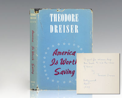 New York: Modern Age Books, 1941. First edition, second printing of this work by the author of Carri...