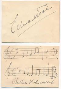 Signature / Autograph Musical Quotation