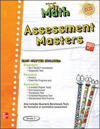 My Math Grade 3 Assessment Masters