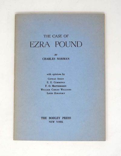 New York: The Bodley Press, 1948. 1st edition. Blue printed stiff wrappers. Nr Fine (slightly faded ...