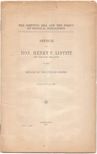 image of Speech of Hon. Henry F. Lippitt of Rhode Island in the U. S. Senate Feb.  16 , 1915