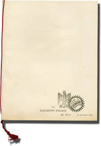 Tout l'or du monde (Original French program and invitations for the 1961 film) by  Claude Rich (starring)  Philippe Noiret - Signed - 1961 - from Royal Books, Inc. (SKU: 144105)