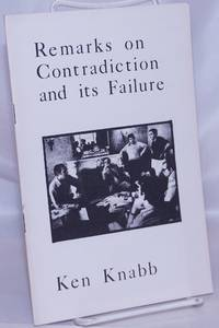 image of Remarks on contradiction and its failure