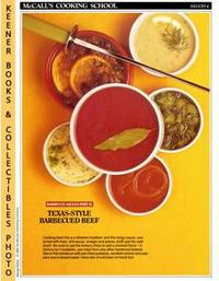 McCall's Cooking School Recipe Card: Sauces 4 - Texas-Style Barbecue Sauce  For Beef Ribs (Replacement McCall's Recipage or Recipe Card For 3-Ring  Binders): McCall's Cooking School Cookbook Series by  Lucy (Editors)  Marianne / Wing - Paperback - First Edition: First Printing - 1986 - from KEENER BOOKS (Member IOBA) (SKU: 009441)