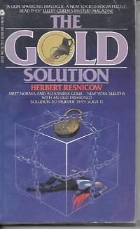 The Gold Solution Meet Norma and Alexander Gold - New York Sleuths with an  Old Fassioned Solution to Murder