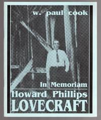 image of In Memoriam: Howard Phillips Lovecraft: Recollections, Appreciations, Estimates