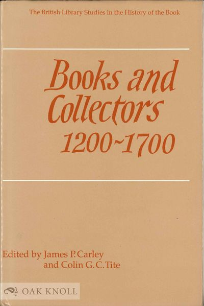 London: The British Library, 1998. cloth, dust jacket. cloth, dust jacket. xxii, 501 pages. First ed...