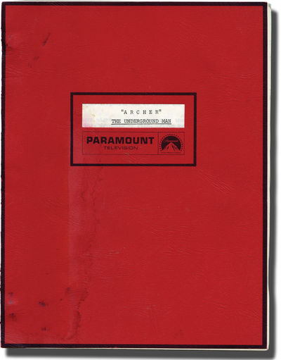 Burbank, CA: Aries Films / National Broadcasting Company , 1974. Final Draft script for the 1974 fil...