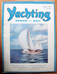"""Report on a Boat: """"Finisterre."""" Article in Yachting. Power and Sail. August, 1955"""