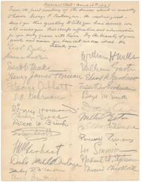 Document Signed (pencil)