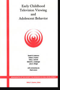 Early Childhood Television Viewing and Adolescent Behavior (Monographs of the Society for Research in Child Development)