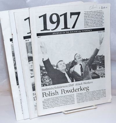 Oakland: International Bolshevik Tendency, 1991. Magazine. Four issues of the magazine, a complete r...