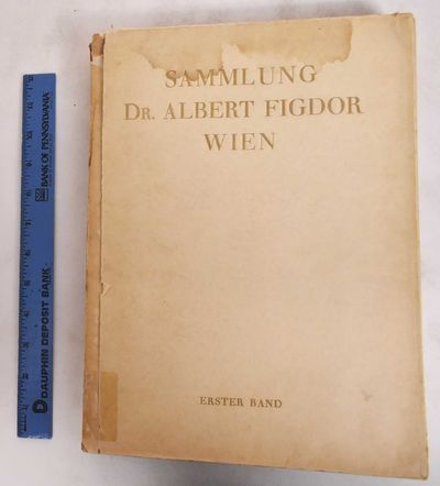 Berlin: Paul Cassirer, 1930. Hardcover. G/Poor, covers are cracked, chipped, soiled, partially detac...