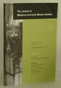 Journal of Medieval and Early Modern Studies, Volume 32, Number 2, Spring 2002; Open-Topic Issue