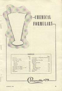 Chemical Formulary (Camerette #79, August, 1949)