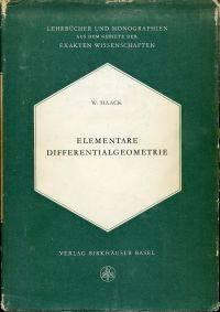 Elementare Differentialgeometrie.