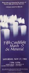 View Image 1 of 2 for Fifth Candlelight March and Memorial: Saturday, Nov 27, 1982 Inventory #177215