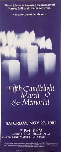 San Francisco: Harvey Milk Archives & Castro Street fair, 1982. handbill leaflet. Single 6x14 inch l...