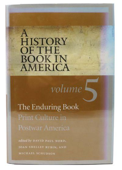 Chapel Hill: The University of North Carolina Press, 2009. 1st Edition. Black cloth binding with gil...