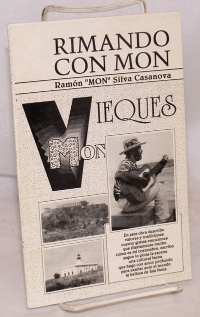 Vieques: the author, 1991. Paperback. 36p., 5.5x8.5 inches, illustrated with photos, text in Spanish...