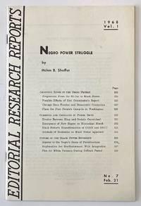 image of Negro Power Struggle