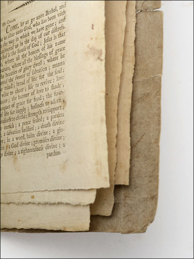 Newburyport: Printed by Angier March, 1802 . Two pamphlets stitched together into contemporary unble...